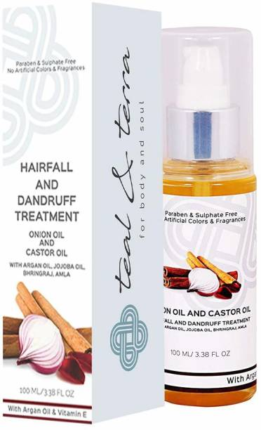 Teal & Terra Hairfall and Dandruff treatment