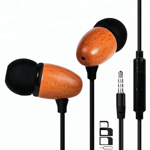 UrCart Headphone Accessory Combo for BLU Grand M2, BLU C5, BLU S1, BLU Grand XL LTE, BLU Touchbook M7, BLU Studio Pro, BLU Studio G Mini, BLU Vivo 8, BLU Studio J8, BLU Studio J8 LTE, BLU Touchbook M7 Pro, BLU Grand Mini, BLU R2 LTE, BLU R2, BLU Tank Xtreme Pro, BLU Studio J1, BLU Grand X LTE, BLU Grand XL, BLU Studio J2 Earphones Original Like Headsets In-Ear Headphones Wired Stereo Bass Head Earbuds Hands-free With Mic, 3.5mm Jack