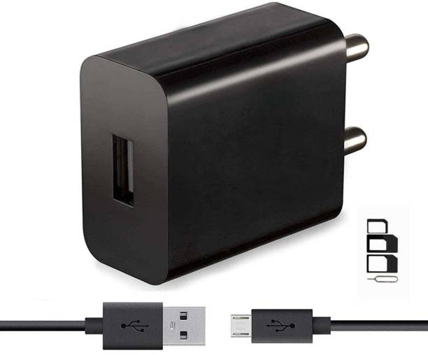 ShopReals Wall Charger Accessory Combo for Lenovo K6 Power, K6 Note, K5 Note, Vibe K5 Plus, P2, Vibe K5, Phab 2, K4 Note, A1000, K3 Note, Phab 2 Plus, A2010, A7000, Phab 2 Pro, A6600 Plus, Vibe P1 Turbo, A6000, A7700, A6000 Plus, Vibe Shot, A6010, Vibe B, P70, Phab Plus, A7000 Turbo, S60, Vibe X2, S850, K3 Note Music, A536, A5000, A328, S660, S930 Charger With 1 Meter Micro USB Charging Data Cable And SIM Adapter
