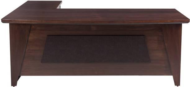 Durian Arrow Brown Engineered Wood Office Table