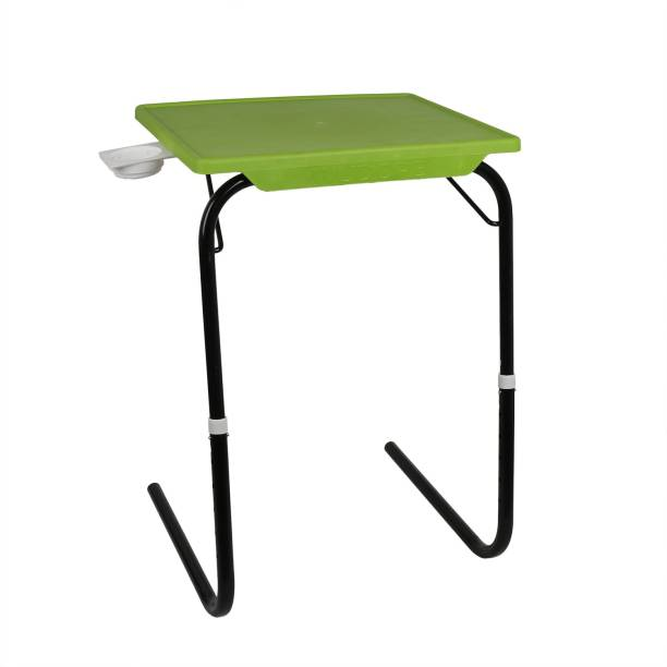 Wudore Foldable,Adjustable(Black legs) Plastic Portable Laptop Table
