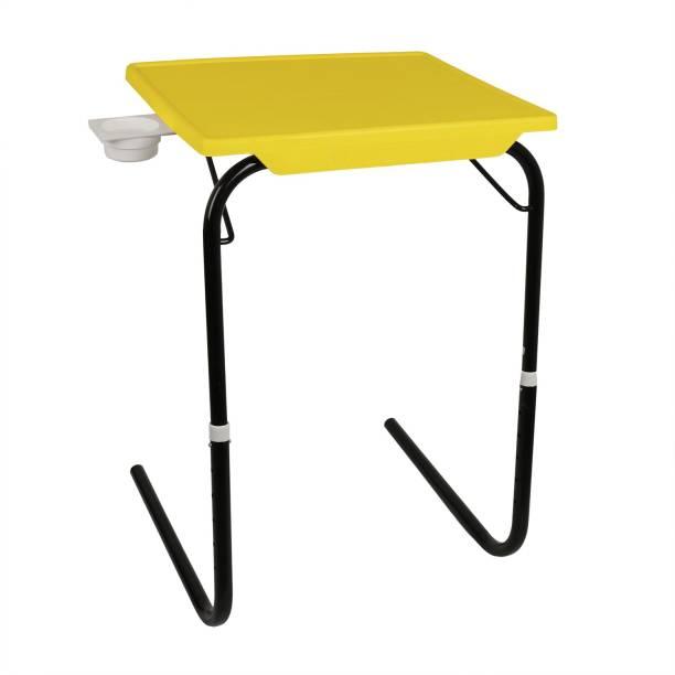 Wudore Foldable,Adjustable(Black legs) Plastic Portable Laptop Table