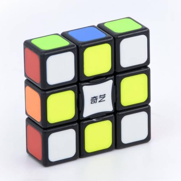 Cubelelo QiYi 1x3x3 Tiled Black Cube Cube
