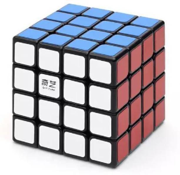 Cubelelo QiYi QiYuan 4x4 Black Cube