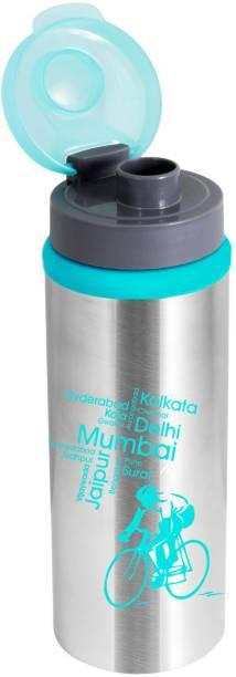 NanoNine Sprint Water Bottle with Flip Top , 750 ml ,Blue 750 ml Bottle