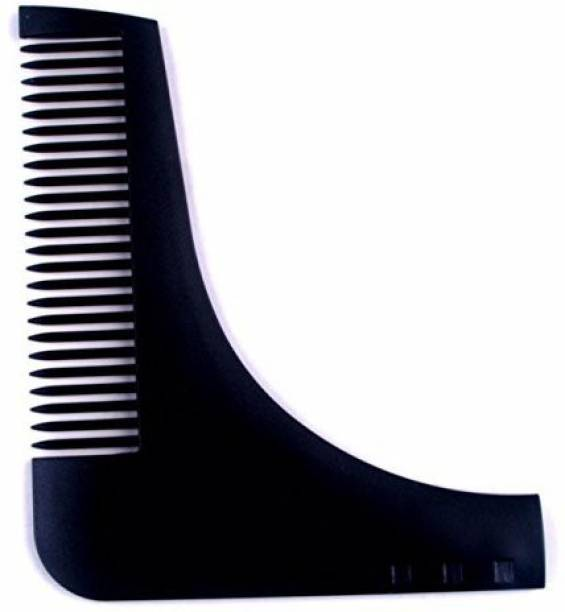 mapperz Beard Shaper Comb Tool with Mustache Comb for Men Home and Salon Use Men Beard Accessories