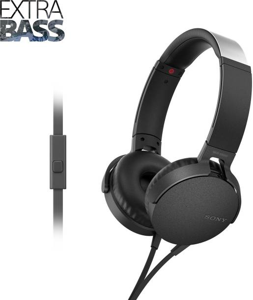SONY MDR-XB550AP Wired Headset