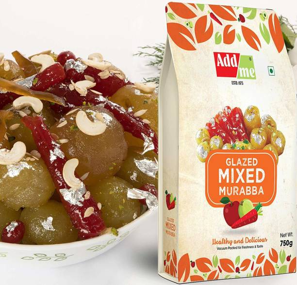 ADD ME Glazed Mixed Murabba with Kesar & Elaichi (Vaccum Packed Without Syrup) Mixed Murabba