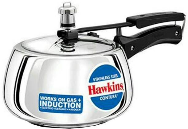 HAWKINS Stainless Steel Contura 3 L Induction Bottom Pressure Cooker