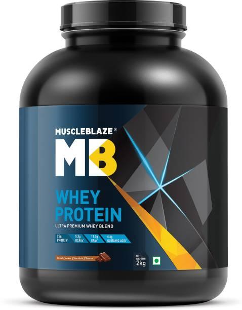 MUSCLEBLAZE 100% Ultra Premium Whey Protein