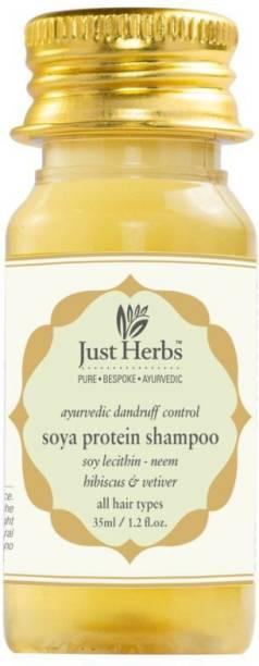 Just Herbs Dandruff Control Pure Ayurvedic Soya Protein Shampoo