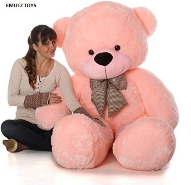 emutz 3 Feet Teddy Bear Jumbo - 91 cm (Pink)  - 91 cm