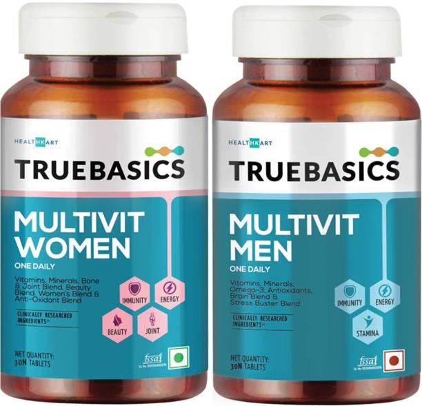 TrueBasics Multivit Women and Men (Pack of 2)
