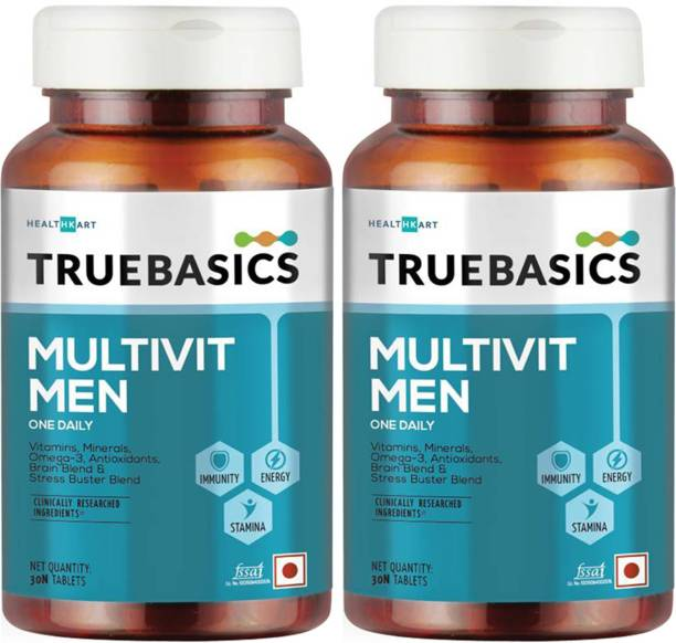 TrueBasics Multivit Men One Daily (Pack of 2)