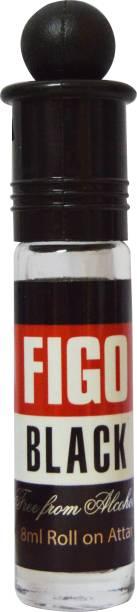 ZIA Black Figo 8ml Roll-On Floral Attar