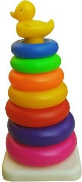 jmv New Born Rock-a-stack Toddler Stack-7 color Ring Sets