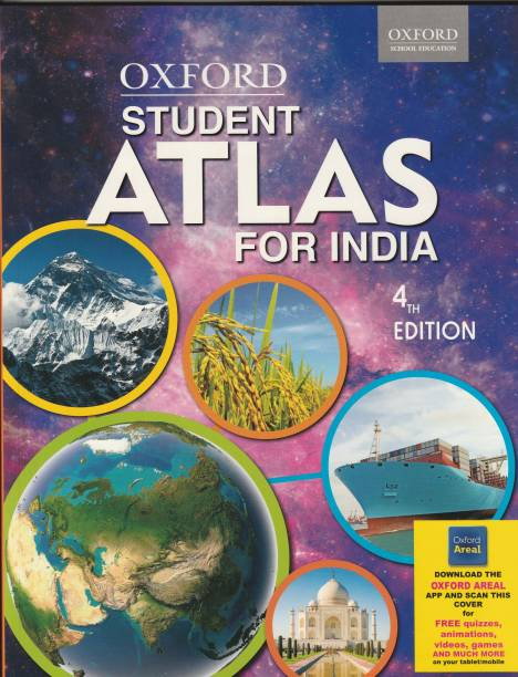 Oxford Student Atlas for India with 0 Disc