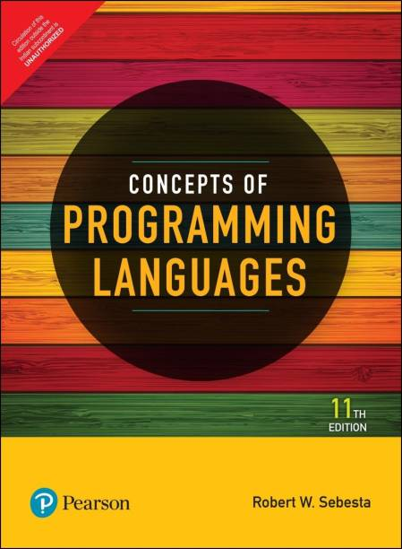 Concepts of Programming Languages | Eleventh Edition | By Pearson