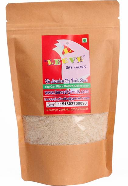 Leeve Dry fruits Sat Isabgol Psyllium Husk, 200g Plain Granules