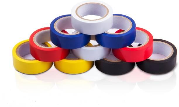 Flipkart SmartBuy 10Pcs Electrical Insulation Tape (Pack of 10)