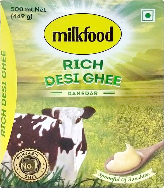 Milkfood Rich Desi Ghee 500 ml Carton