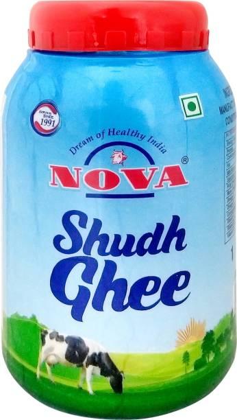 NOVA Shudh Ghee 1 L Plastic Bottle