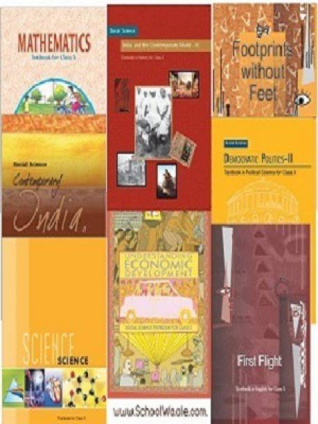 NCERT Books Set Class 10 (English Medium - Binded Books)