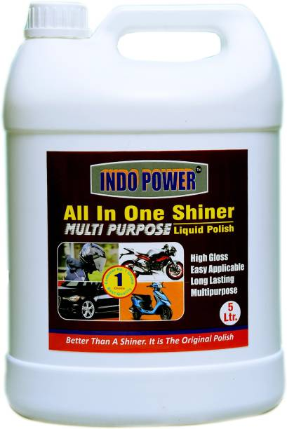 INDOPOWER ALL IN -ONE SHINER 5ltr. 5000 ml Wheel Tire Cleaner