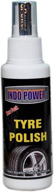 INDOPOWER Tyre polish 100ml. 100 ml Wheel Tire Cleaner