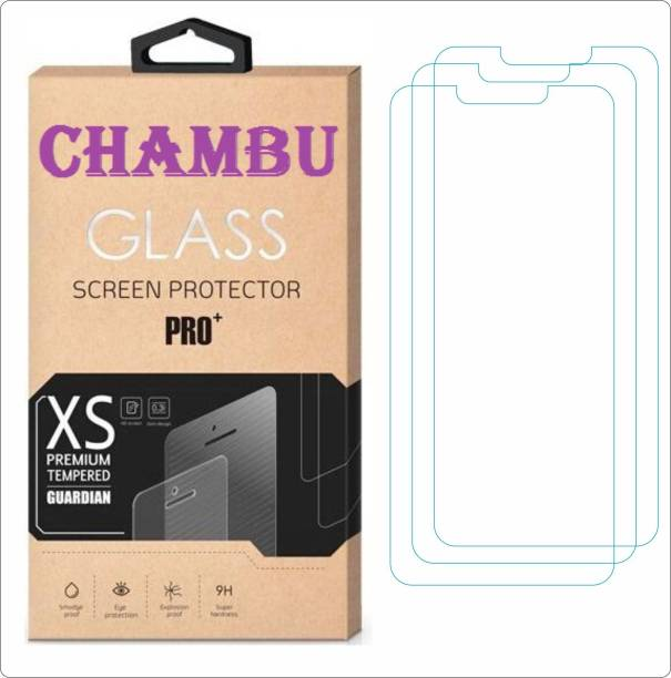 CHAMBU Edge To Edge Tempered Glass for Alcatel One Touch Scribe Easy