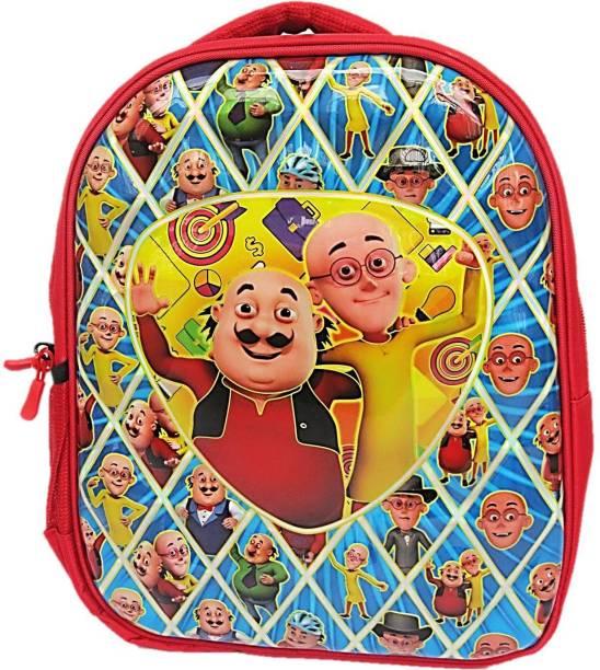 Muccasacra Team Motu Patlu bag School Bag