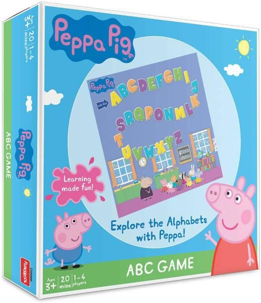FUNSKOOL Pig A B C Game Educational Board Games Board Game