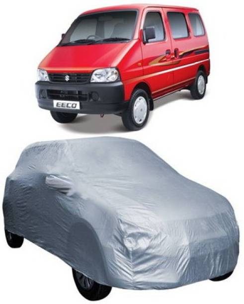 HDSERVICES Car Cover For Maruti Suzuki Eeco (With Mirror Pockets)