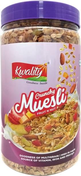 Kwality Crunchy Muesli Fruit N Nut