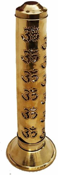real sprituality Brass Incense Holder