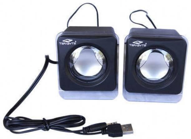 Terabyte KUBIX 2W Speakers 2 W Laptop/Desktop Speaker
