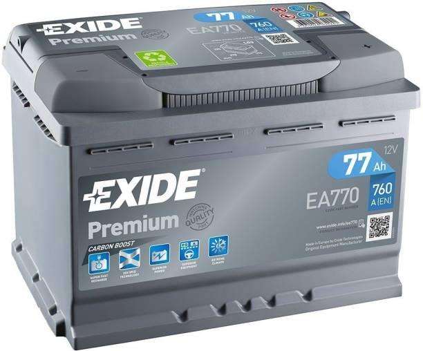EXIDE EXD8811 77 Ah Battery for Car