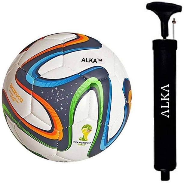 ALKA COMBO HAND STITCHED 4 COLOR WITH PUMP Football Kit