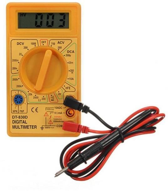 Republic Multimeter AC DC Voltage current (DT-830D) Digital Multimeter ( 2000 Counts) Digital Multimeter