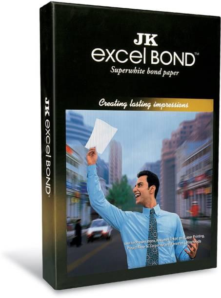 JK Excel 90 GSM - 100 Sheets A4 90 gsm Bond Paper