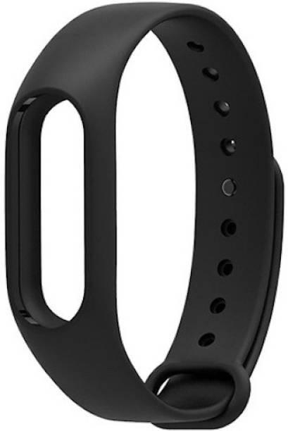 Epaal adjustable buckle Compatible with Mi Band 2 & Mi Band HRX - Black Smart Band Strap Smart Band Strap