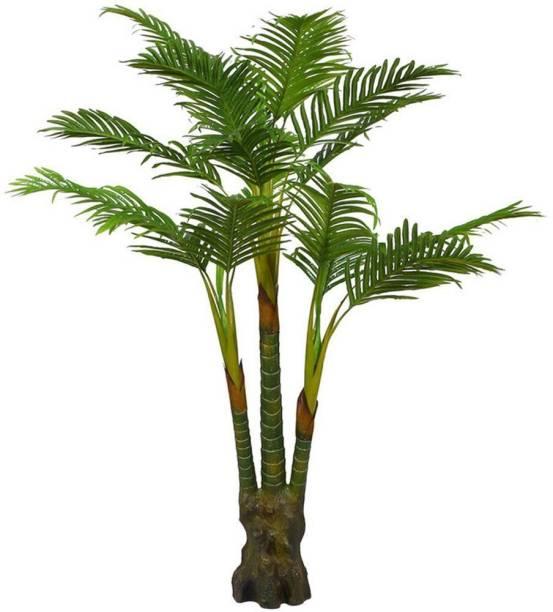 KAYKON Big Artificial Palm Tree Artificial Plant  with Pot