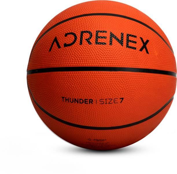 Adrenex by Flipkart Thunder Basketball - Size: 7