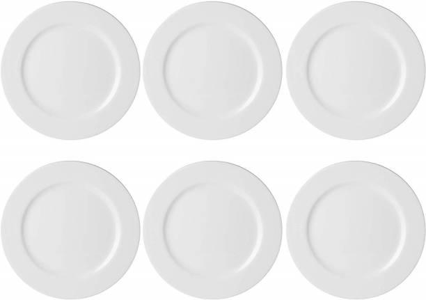 STEHLEN Elevated Design, 100% Pure Melamine, Dinner Plate Set, Set of 6 (Diameter: 12 Inch) Dinner Plate