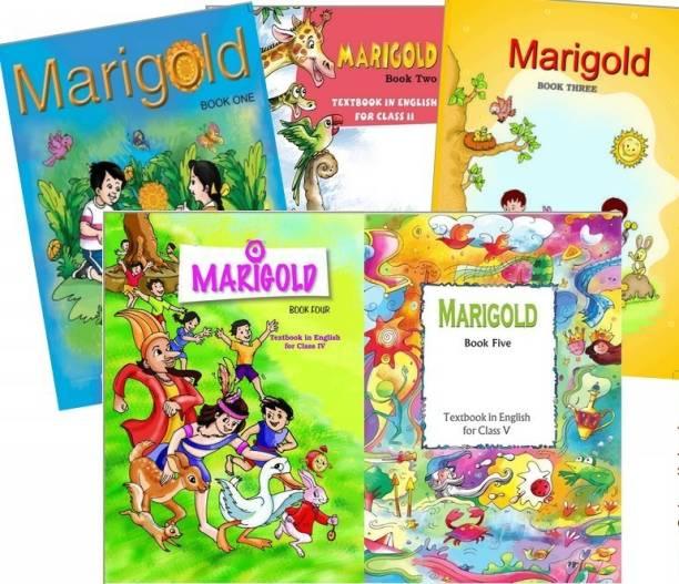 NCERT Marigold Books Set Class 1 To 5 (English & Hindi Medium - Binded Books)