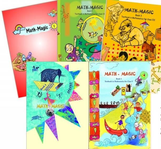 NCERT Mathematics Books Set Class 1 To 5 (English Medium - Binded Books)