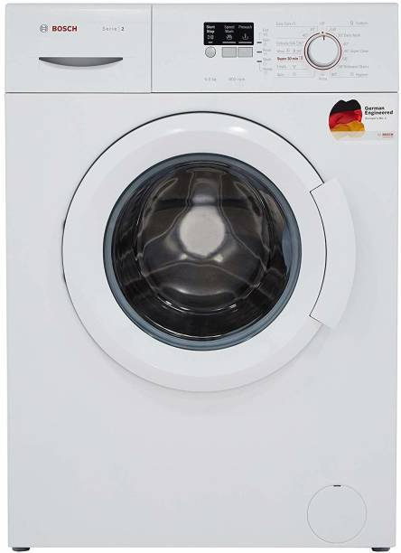 BOSCH 6 kg Fully Automatic Front Load White