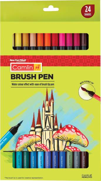 Camlin Brush Pen 24 shades
