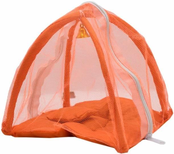 Gopal ji Collection Laddu Gopal Bed Cotton Net Bed Super Soft Quality 0 To 6 No size Laddu Gopal Cotton Cotton Pooja Chowki