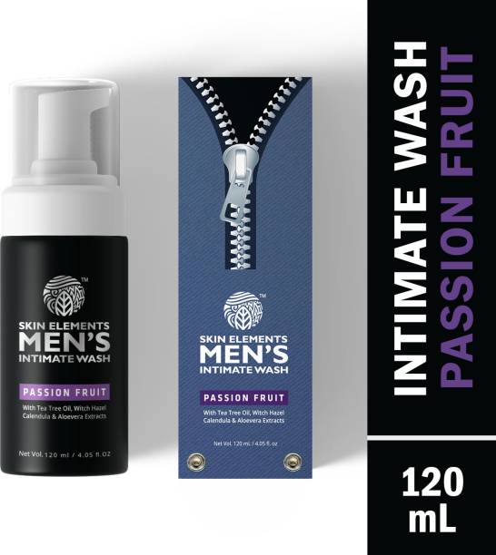 Skin elements Intimate Wash for Men with Passion Fruit